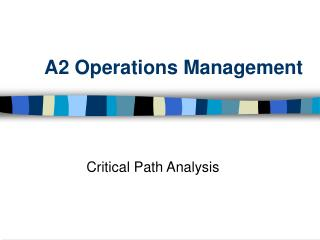 A2 Operations Management