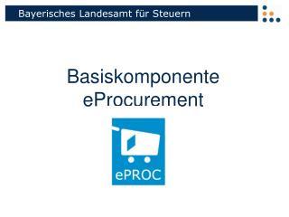 Basiskomponente eProcurement