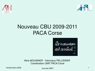 Nouveau CBU 2009-2011 PACA Corse