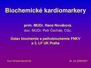 Biochemické kardiomarkery