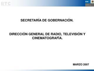 SECRETARÍA DE GOBERNACIÓN.