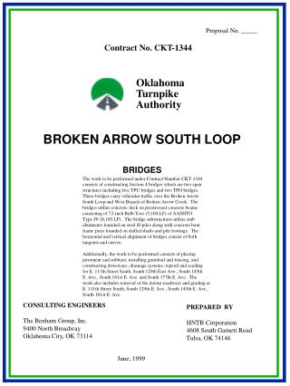 BROKEN ARROW SOUTH LOOP BRIDGES