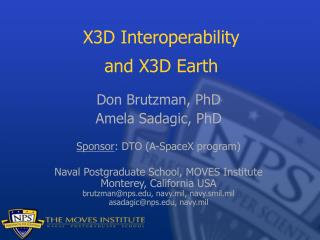 X3D Interoperability and X3D Earth