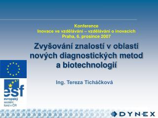 Ing. Tereza Ticháčková