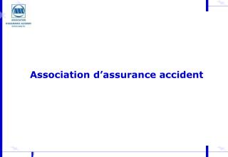 Association d�assurance accident