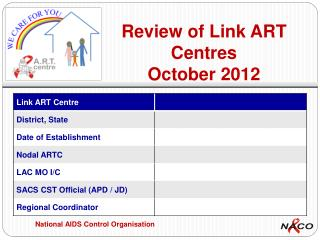 Review of Link ART Centres October 2012