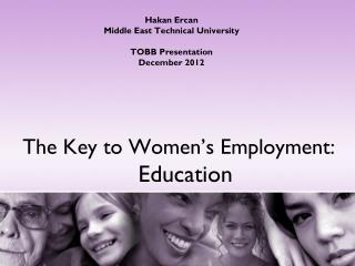 The Key to Women's Employment: Education