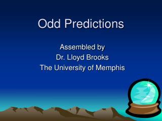 Odd Predictions