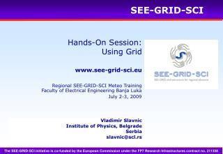 Hands-On Session: Using Grid