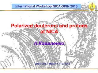 Polarized deuterons and protons  at NICA