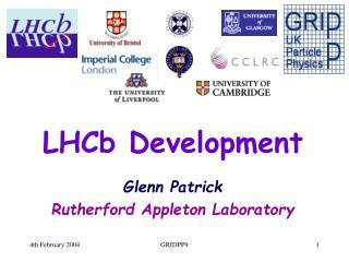 LHCb Development