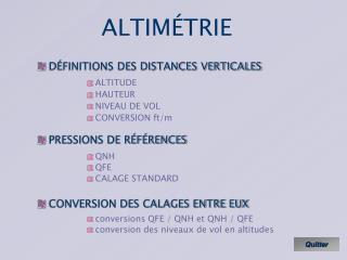 ALTIM�TRIE