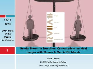 Gender Norms in Transition: Conversations on Ideal Images with Women & Men in Fiji Islands