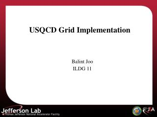 USQCD Grid Implementation