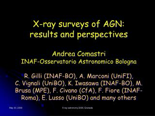 WHAT HAVE WE LEARNED FROM X-RAY SURVEYS (1)?