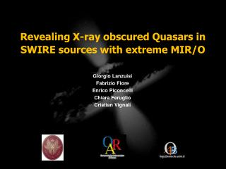Revealing X-ray obscured Quasars in SWIRE sources with extreme MIR/O