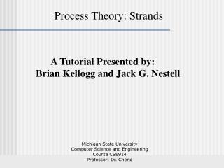 Process Theory: Strands