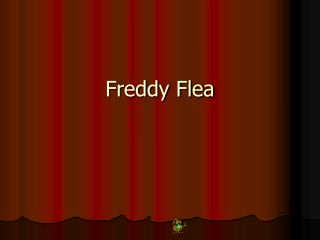 Freddy Flea