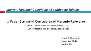 Ilustre y Nacional Colegio de Abogados de México