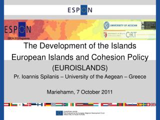 The Development of the Islands  European Islands and Cohesion Policy (EUROISLANDS)