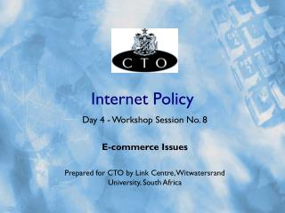 Internet Policy