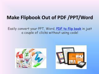 Great Features of PDF Flipbooks Made by Kvisoft
