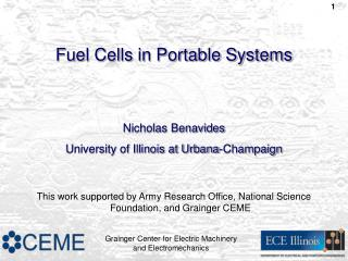 Fuel Cells in Portable Systems