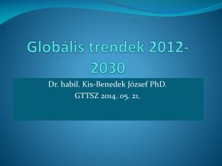 Globális trendek 2012-2030