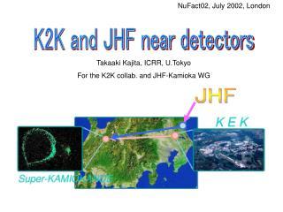 K2K and JHF near detectors