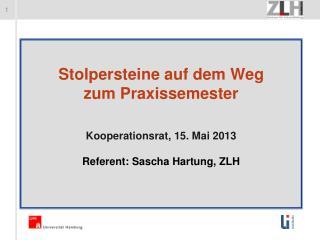 """Im Blick: Das Hamburger """"Kernpraktikum"""" im allgemein-bildenden Bereich nach zwei Jahren Erfahrung"""