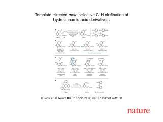 D Leow  et al. Nature 486 , 518-522 (2012) doi:10.1038/nature11158