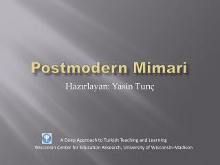 Postmodern M i mari