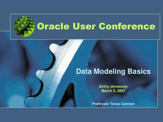 Oracle User Conference