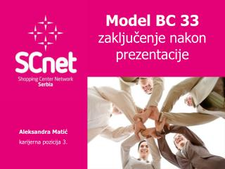 Model BC 33  zaklju ?enje nakon prezentacije