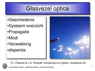 Glasvezel optica