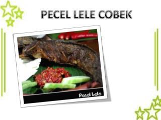 PECEL LELE COBEK