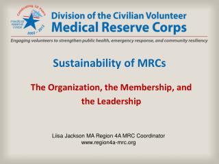 Sustainability of MRCs
