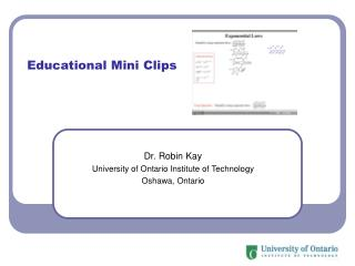 Educational Mini Clips