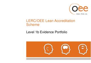 LERC/OEE Lean Accreditation Scheme