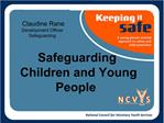 Claudine Rane Development Officer  Safeguarding