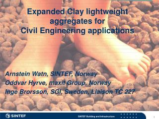 Expanded Clay lightweight aggregates for   Civil Engineering applications