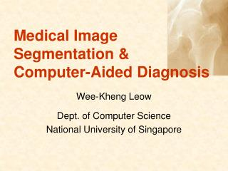 Medical Image Segmentation & Computer-Aided Diagnosis