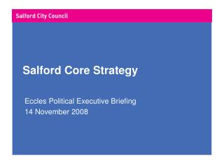 Salford Core Strategy