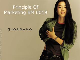 Principle Of Marketing BM 0019