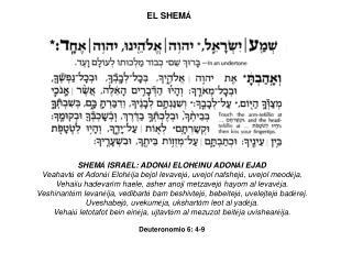 EL SHEM Á