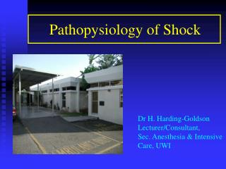 Pathopysiology of Shock