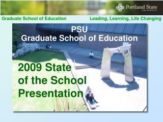 PSU  Graduate School of Education