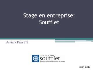 Stage en entreprise: Soufflet