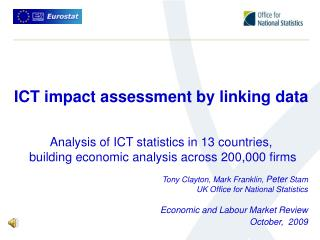 ICT impact assessment by linking data