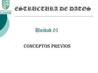 Unidad 01
